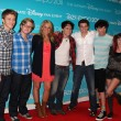 """So Random"" Cast Members including Tiffany Thornton, Doug Bruchu, Sterling — Stock Photo"