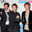 Постер, плакат: Muse Christopher Wolstenholme Matthew Bellamy and Dominic Howard