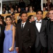 Slumdog Millionaire Cast, Producers, director — Foto Stock