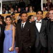 Slumdog Millionaire Cast, Producers, director — Foto de Stock