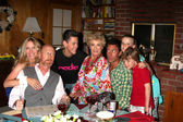 Lauralee Bell, Aaron Lustig, Zach Cumer, Cloris Leachman, Dan Cortese, Makaela Renae Johnson, Maxim Knight — Stock Photo