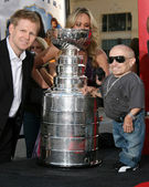 Chris Osgood of the Detroit Redwings, with the Stanley Cup. and — Stock Photo