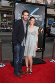 David Benioff & wife Amanda Peet — Stock Photo