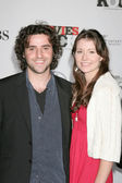 David Krumholtz & Date — Stockfoto
