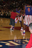 Big Easy, Rico Rodriguez, and Flight Time, Globetrotters — Stock Photo