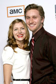 Connie, Aaron Staton — Stock Photo