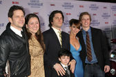 Jamie Kennedy, Camryn Manheim, David Conrad, Connor Gibbs, Jenn — Stock Photo