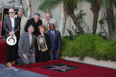 Chamber and LA City Officials, Peter Asher, Phil Everly, Gary Busey, Maria Elena Holly — Stock Photo