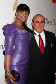 Jennifer Hudson & Clive Davis — Stock Photo