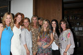 Jessica Collins, Michelle Stafford, Genie Francis, Eileen Davidson, Jess Walton, Marcy Rylan, Jessica Heap, Kate Linder — Stock Photo
