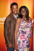 Russell Hornsby & Nicki Micheaux — Stock Photo