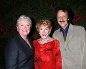 Susan Flannery, Jeanne Cooper, & Michael Logan — Stock Photo