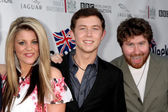 Lauren Alaina, Scotty McCreery, Casey Abrams — Stock Photo