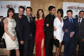 Carla Gugino, Kevin Dillon, Jeremy Piven, Perrey Reeves, Adrian Grenier, Emmanuelle Chriqui, Kevin Connolly — Stock Photo