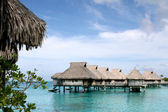 Bora Bora Nui Resort Atmosphere — Stock Photo