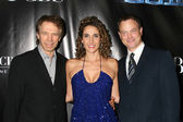 Jerry Bruckheimer, Melina Kanakaredes, Gary Sinise — Stock Photo
