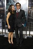 Susan and Robert Downey Jr — Stock Photo