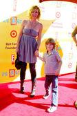 Eileen Davidson & Son Jesse Van Patten — Stok fotoğraf