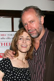 Sarah Clarke & Husband Xander Berkeley — Stock Photo