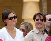Katie Holmes & Tom Cruise — Foto de Stock
