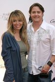 Jeremy London and Wife Melissa Cunningham — Stock Photo