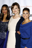 Zoe Saldana, Olivia Wilde, Eva Longoria — Stock Photo