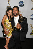 Kristoff St John, Daughter Lola — Stock Photo