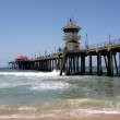 Huntington Beach Pier — Stock Photo