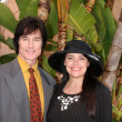 Ronn Moss, Devin DeVasquez — Stock Photo