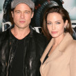 Brad Pitt and Angelina Jolie — Stock Photo #12931630