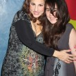 Kathy Najimy, daughter Samia — Stock Photo #12932352