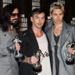Tomo Milicevich, Shannon Leto and Jared Leto — Stock Photo #12933664