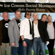 Daughtry, Ben & Jerry — Stock Photo
