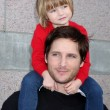 Peter Facinell and daughter Fiona Eve Facinelli — Stock Photo