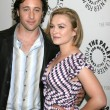 Alex O&#039;Loughlin, Sophia Myles - Stockfoto