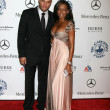Melanie Brown & Husband — Foto Stock