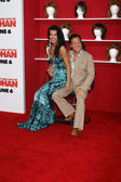 Rob Schneider and guest Natalia — Stockfoto