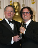 Al Gore & Davis Guggenheim — Stock Photo
