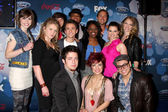 Participants of American Idol Top 12 Party — Stock Photo