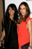 Persia White and Maggie Q (aka Maggie Quigley) — Stock Photo