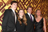 Denis Leary & Family — Stock Photo