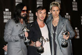 Tomo Milicevich, Shannon Leto and Jared Leto — Stock Photo