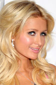 Paris Hilton & new product — Stock Photo