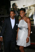 Jamie Foxx, Serena Williams — Stock Photo
