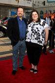 Terry Fator & sister — Stock Photo