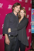 Sam Trammell and Wife — Stock Photo