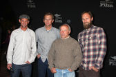Director Chris Malloy and Keith Malloy (brother, featured) and Filmmakers — Stock Photo