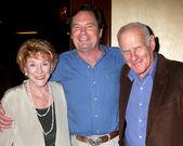 Jeanne Cooper, Beau Kayzer, & Michael Fairman — Stock Photo