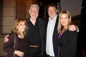 Denise Alexander, Guest, Jonathan Frakes, Genie Francis — Stock Photo
