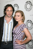 Alex O'Loughlin, Sophia Myles — Stock Photo